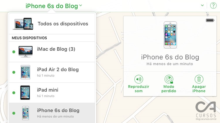 Se for Android, veja os passos: