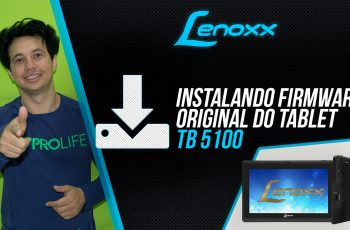 Como Instalar o Firmware Original do Tablet Lenoxx TB-5100