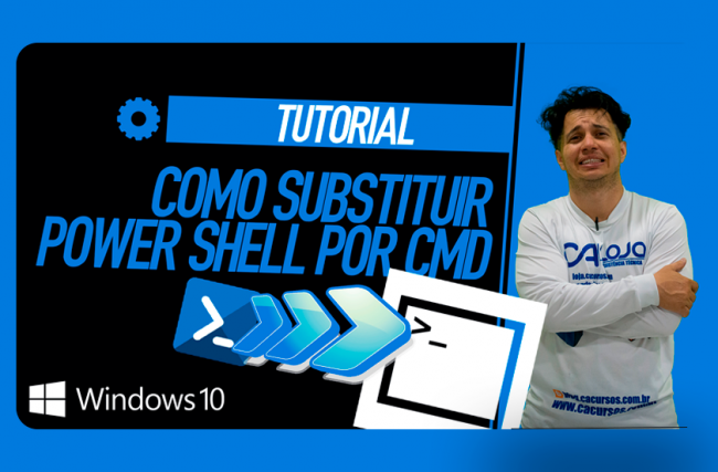 Como Substituir PowerShell Por CMD