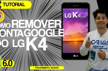 Como Remover Conta Google do LG K4 (novo) X230ds Android 6.0 Patch 5 de dezembro de 2016