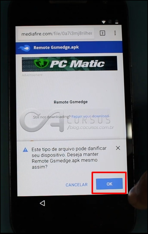 remote gsmedge apk 6.0