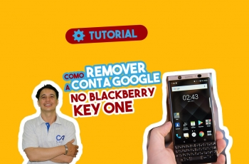 Como Remover a Conta Google BlackBerry keyone BBB100-1 android 7.1.1 patch 1 de março de 2018